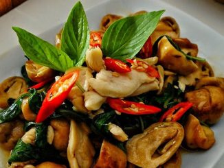 Stir Fried Basil